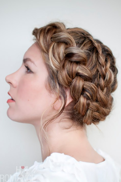 Beautiful Halo Braid