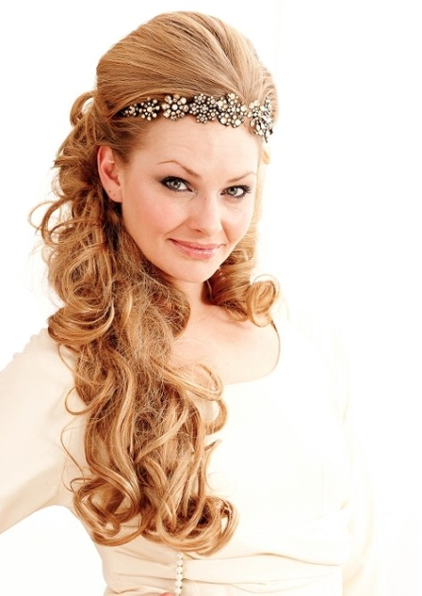 Beautiful Wedding Hairstyles For Long Hair ...