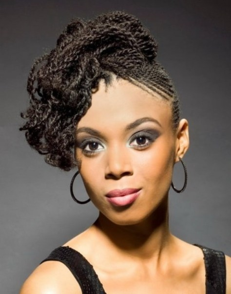 Black Women Hairstyles with Braids