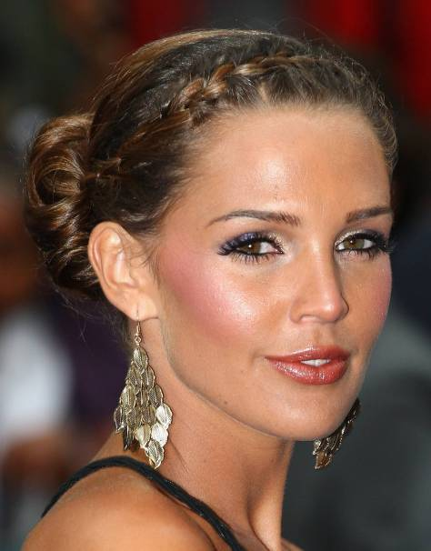 LONDON, ENGLAND - JUNE 15: Danielle Lloyd arrives for the Transformers: Revenge of the Fallen Premiere at Odeon Leicester Square on June 15, 2009 in London, England. (Photo by Gareth Cattermole/Getty Images)
