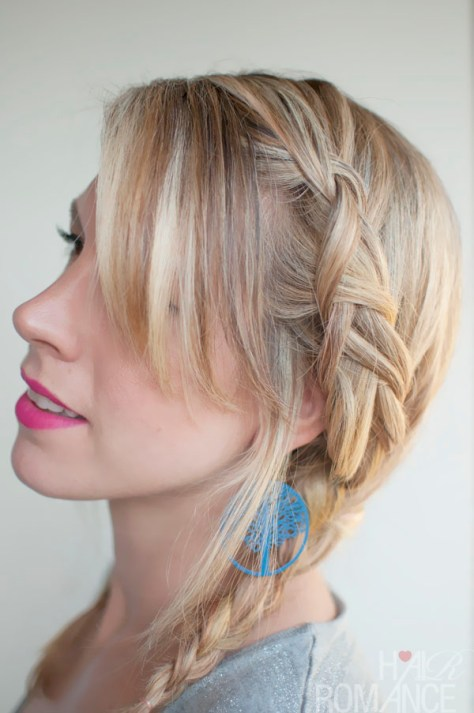 Braided Pigtail Hairstyles for Medium Hair
