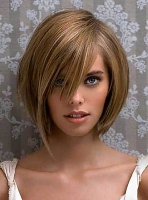 Cute short bob haircuts for women 2016