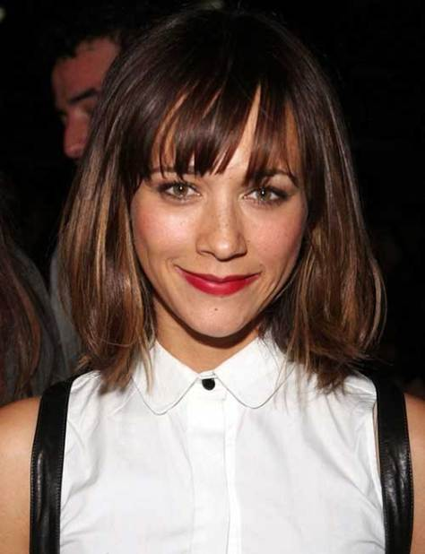 Cutest Medium to Short Hairstyle with Bangs