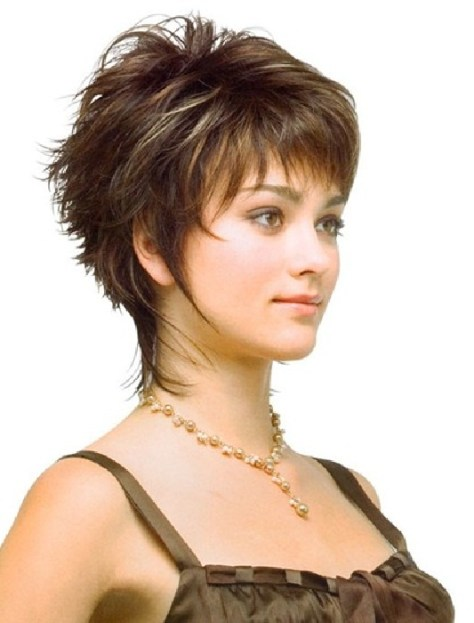 Elegant Short Hairstyle for fine hair