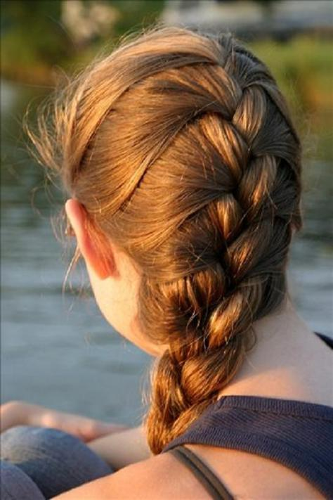 French Braid Hairstyles image