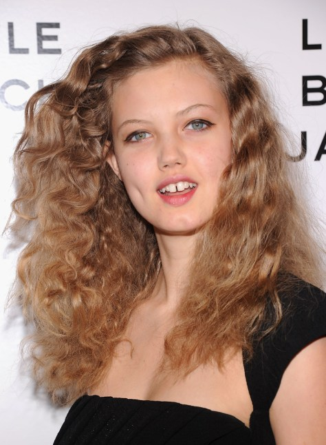 Long Curly Hair Lindsey Wixson