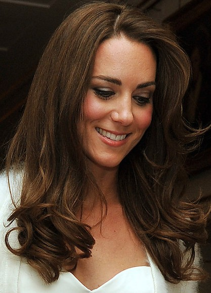 Long Wavy Hair Kate Middleton