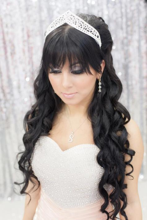 Lovely Wedding Hair For Bridal Veils