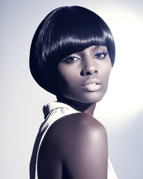 Short Bob Hairstyles for Black Women images