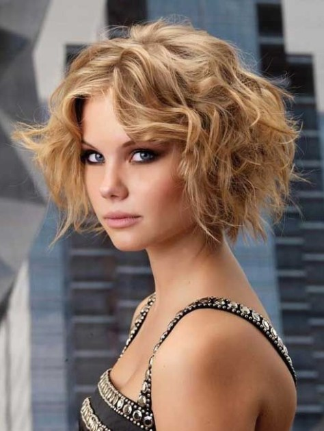 Short Curly Bob Hairstyles 2016....