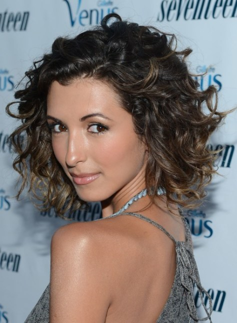 Short Curly Ombre Hair