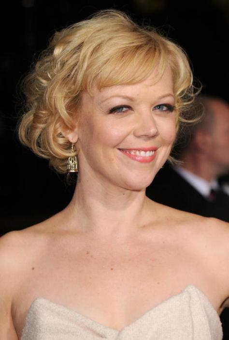 "HOLLYWOOD - NOVEMBER 22: Actress Emily Bergl arrives at the ""Faster"" Los Angeles Premiere at Grauman's Chinese Theatre on November 22, 2010 in Hollywood, California. (Photo by Jason Merritt/Getty Images)"