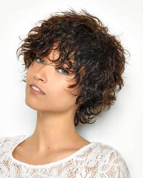 Short Curly Thick Hairstyles 2016