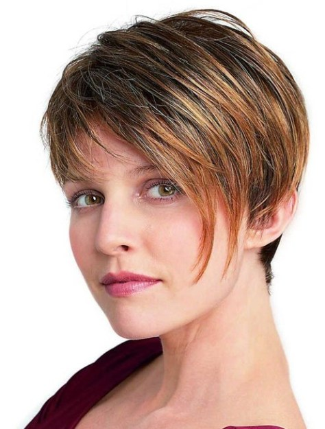 Short Hairstyles for Women with Thick