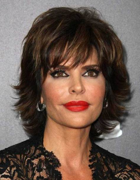 Short Trendy Hairstyles for 50 Year Old Women