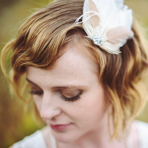 Short Wedding Hairstyles for Brides