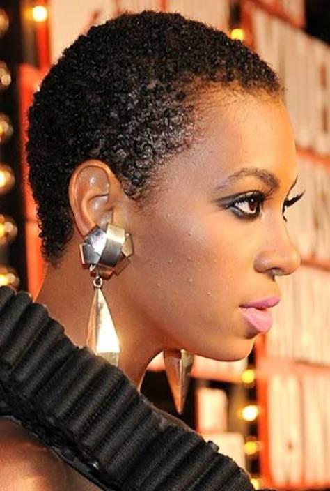 Short black natural hairstyles