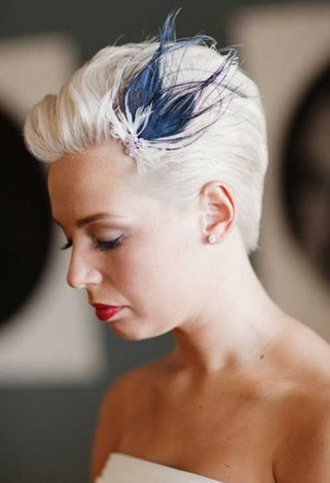 Wedding Hairstyles for Short Hair Pixie