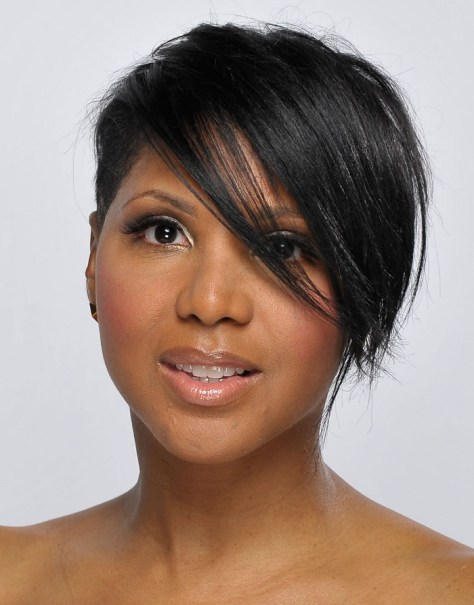 Women with Short Black Hairstyles...