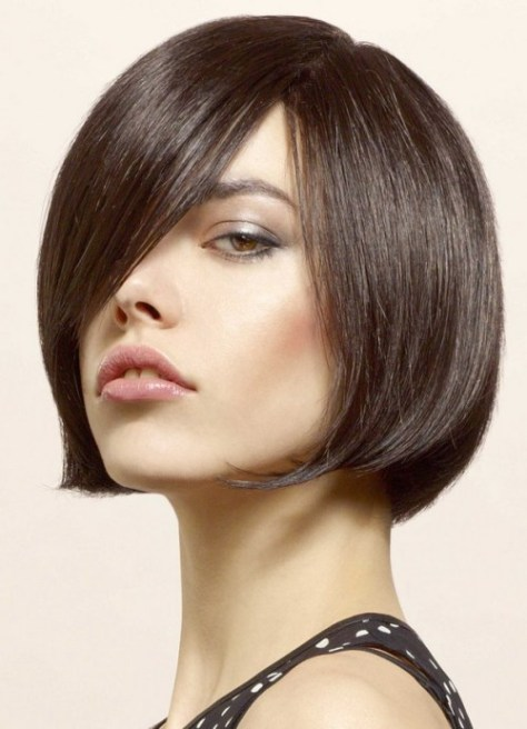 short hairstyles for thick hair ideas