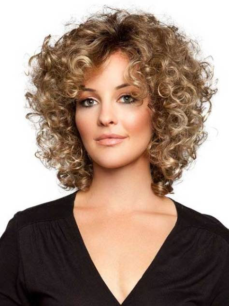 Best Haircut for Thin Curly Hairdo