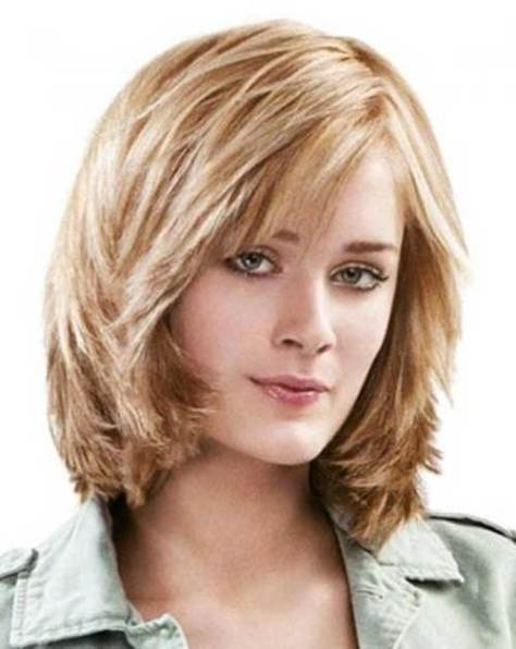 Cute Choppy Layered Haircut for Short Hair