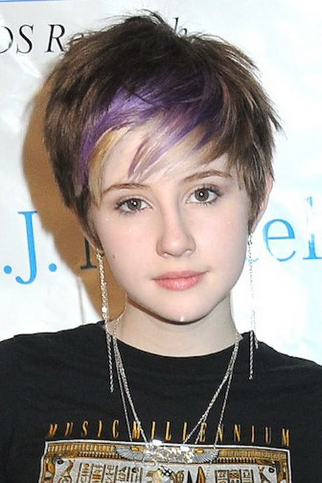 Cute Teen Girl Short Hairstyles