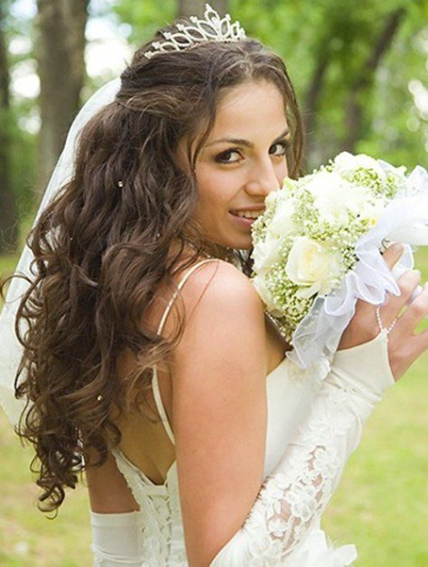 Down Wedding Hairstyles Long Hair
