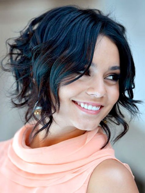Most Delightful Short Wavy Hairstyles..