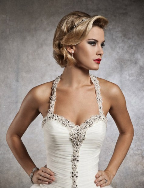 Most popular short wedding hairstyles of 2016