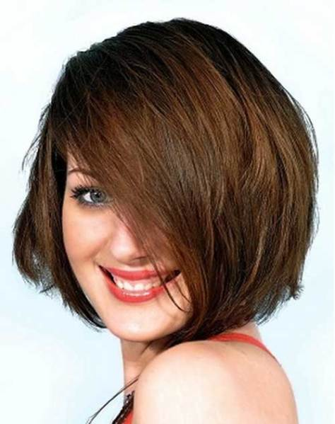 Nice Short Haircuts for Chubby Round Faces