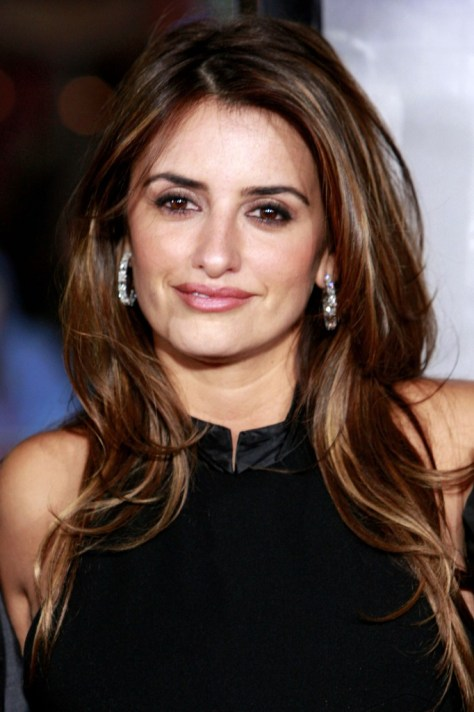 Penelope Cruz Hair Highlights
