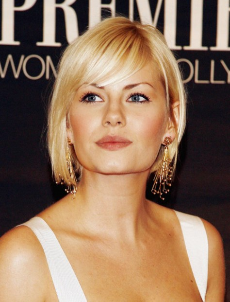 Short Bob Hairstyles with Bangs for Fine hairs