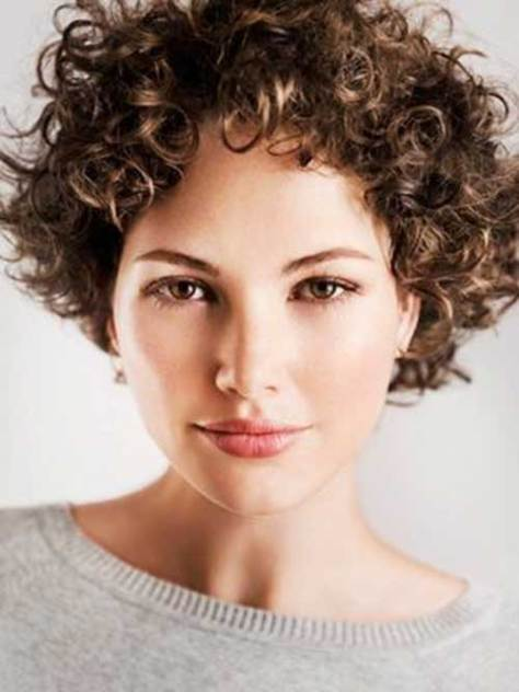 Short Curly Haircuts - 2016