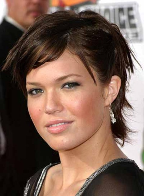 Short Hair Round Face Hairstyles
