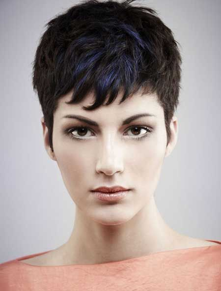 Short Haircuts for Thick Hair Pixie Cut