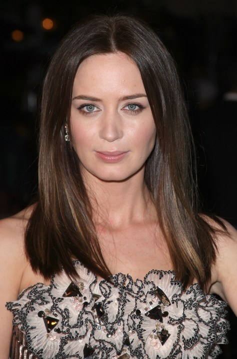 LOS ANGELES, CA - MARCH 09: Actress Emily Blunt arrives at the Overture Film's screening of 'Sunshine Cleaning' held at Pacific Theaters at The Grove on March 9, 2009 in Los Angeles, California. (Photo by Jason Merritt/Getty Images)