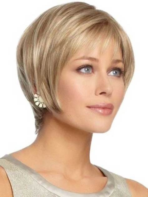 Straight Pixie Haircut for Oval Faces