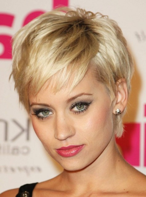 Trendy Short Hairstyles for Thick Hair 2016