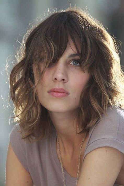Beautiful Short Wavy Hairstyles