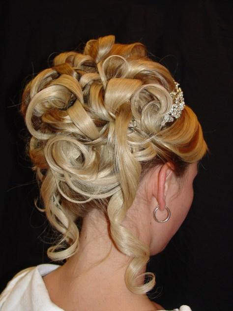 Bridesmaid Updo Hairstyles for Long Hair