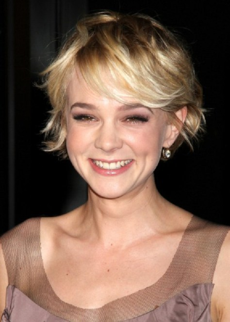 Carey Mulligan Hairstyle Short Hair