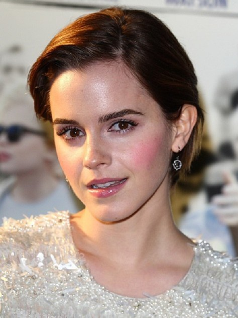 Emma Watson Growing Out Short Hair