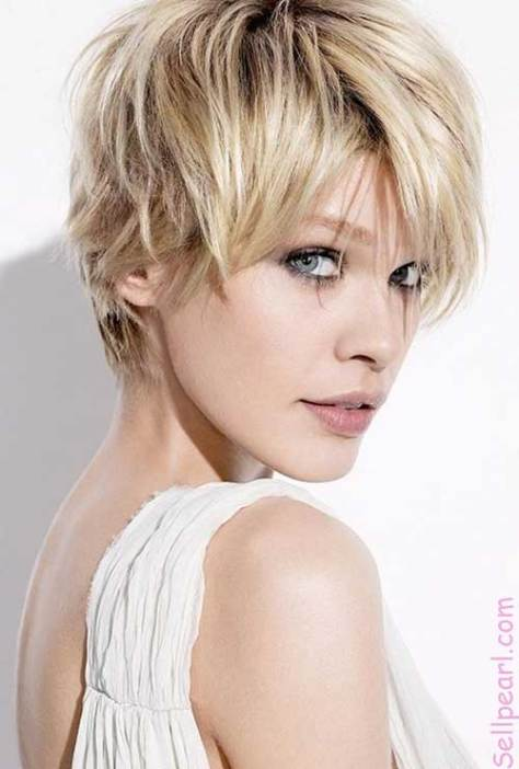Funky Hairstyles for Pixie Cut