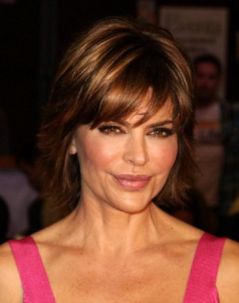 Lisa Rinna Celebrity Hairstyles