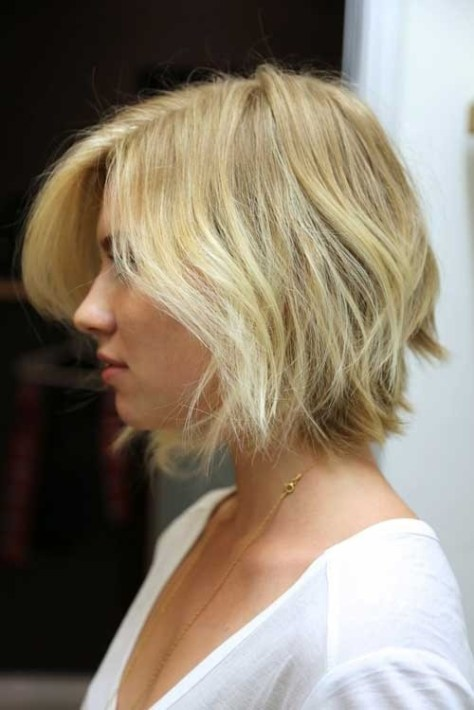 Short Bob Hairstyles for Wavy Hair