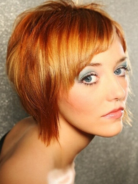 Short Funky Bob Hairstyles
