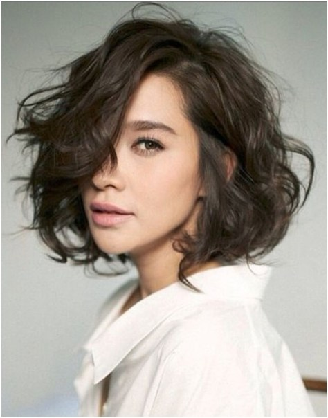 Short Hairstyles Wavy Curly Hair