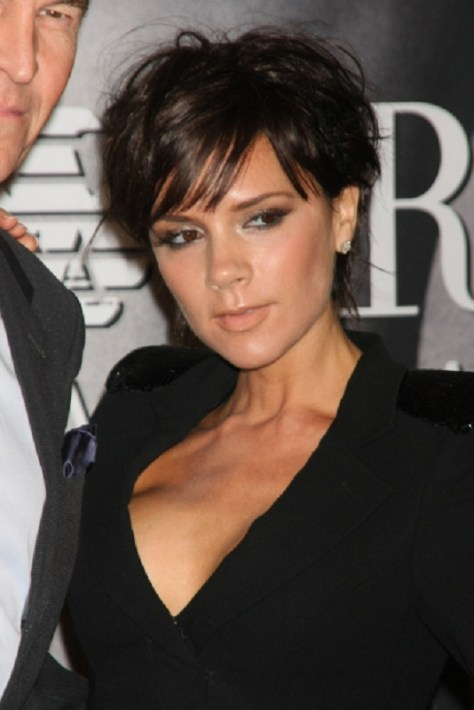 Victoria Beckham Hairstyles Short Hair