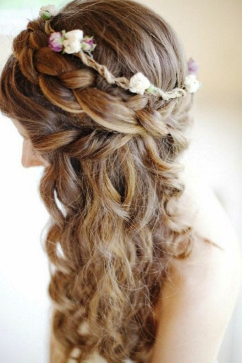 prom hairstyles for long hair images